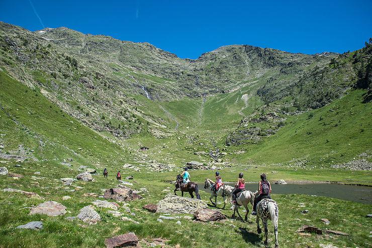 L'Andorre à cheval