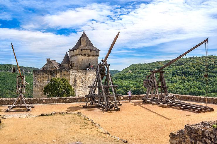 Le château de Castelnaud, un voyage dans le temps