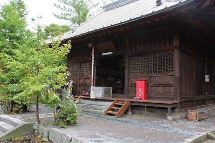 Unzen, petit temple, au Japon