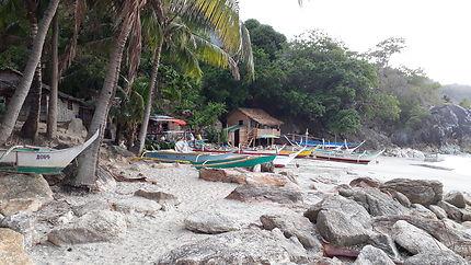 Plage de white beach