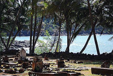 Cimetière sur l'île Saint Joseph