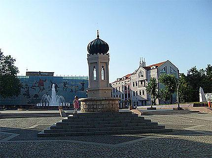 Tuzla, le centre