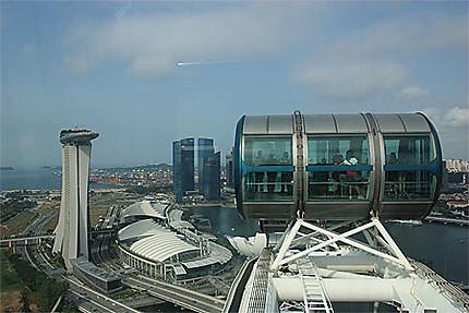 Vue de Singapore Flyer