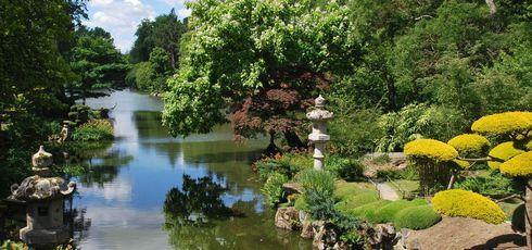 L'Anjou, côté jardins -