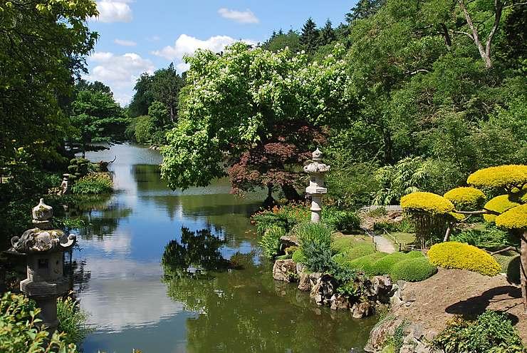L'Anjou, côté jardins