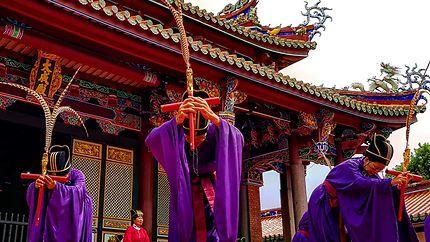 Cérémonie à Taipei, Taiwan