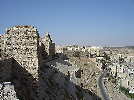 Château et ville de Kerak