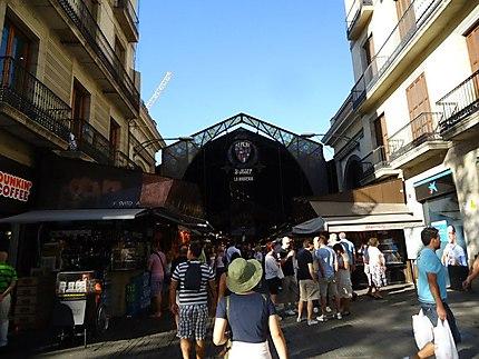 Mercat (marché) de la Boqueria