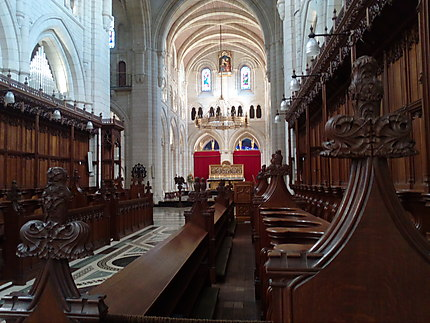 Intérieur de l'église abbatiale