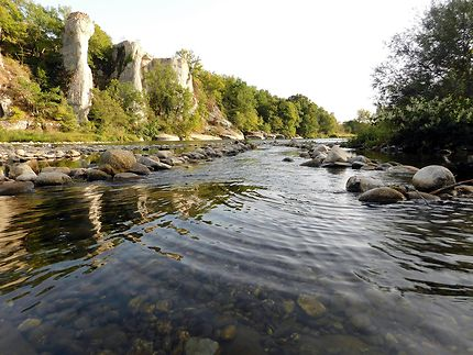 Rivière du Chassezac