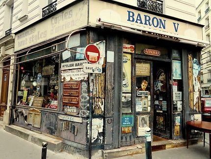 La vieille boutique aux objets vintages