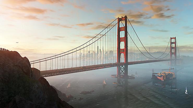San Francisco via Watch Dogs 2