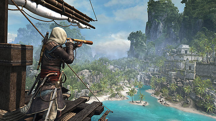 Les îles des Caraïbes via « Assassin's Creed IV : Black Flag »