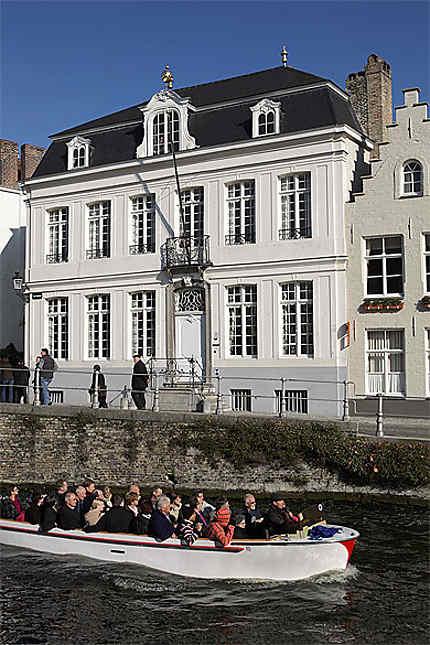 Les canaux, St-Annarei, Bruges