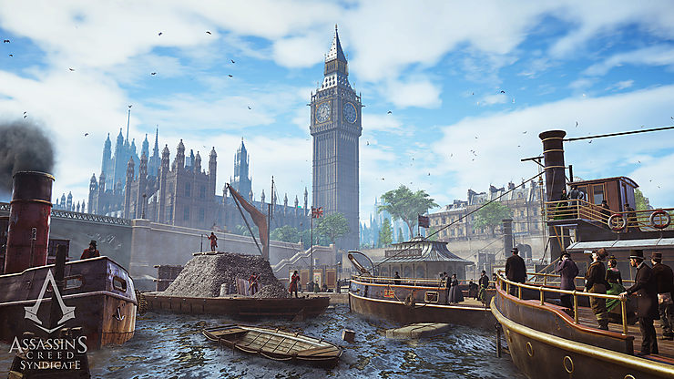 Londres via « Assassin's Creed Syndicate »