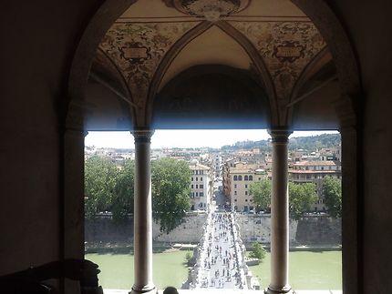 Les anges du castel Sant'Angelo