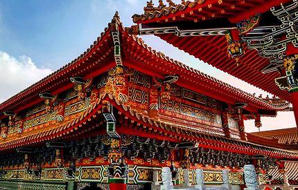 Temple chinois de Wenwu, Taiwan