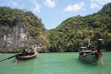 Lagon de Koh Hong