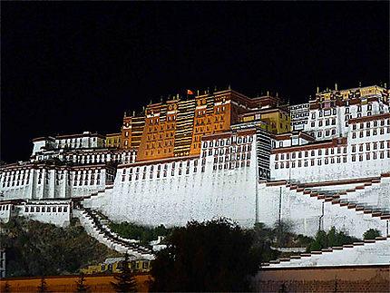 Palais du Potala le soir