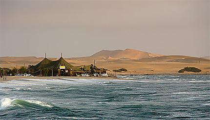 Depuis la jetée du port de Swakopmund