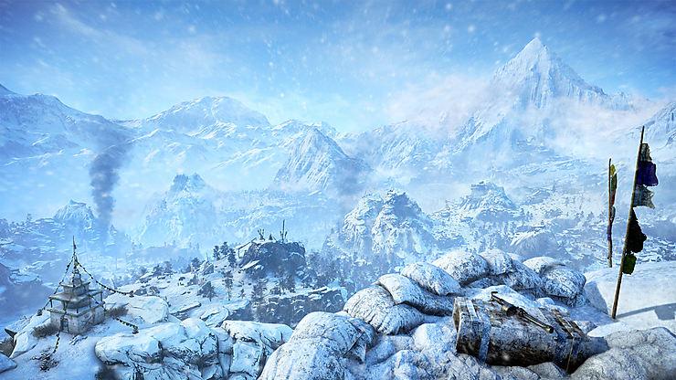 L'Himalaya via « Far Cry 4 »