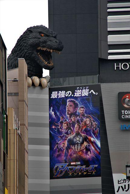 Godzilla veille !