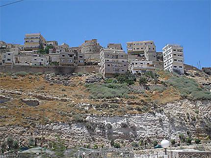 Vue de la citadelle de Kerak