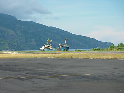 L'aéroport d'Ende