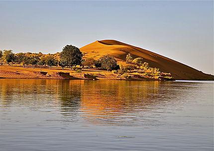 Les dunes roses de Gao