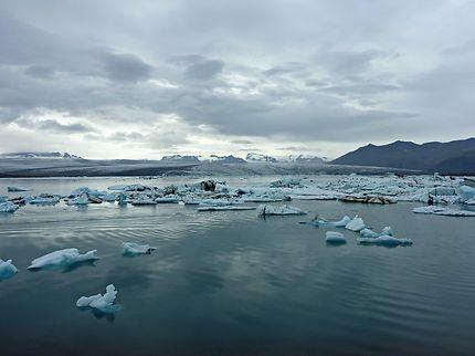 Lac glaciaire Jökulsárlón