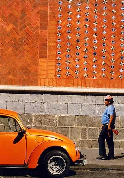 Jeu de couleurs à Puebla