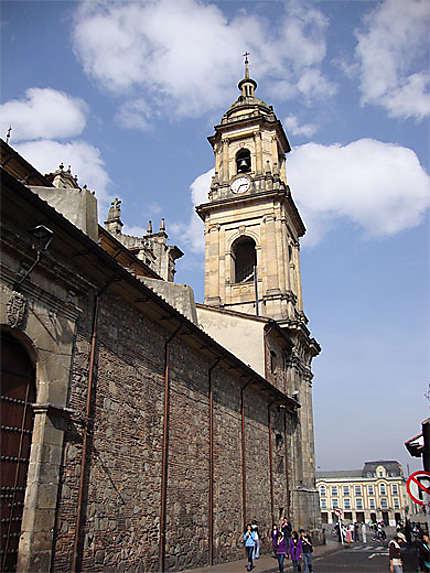 Clocher de la Cathédrale de Bogotá