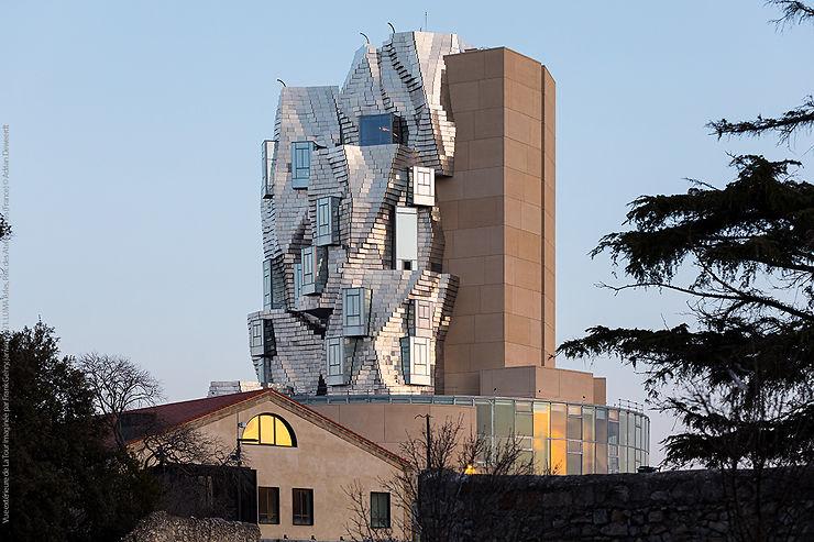 Provence - Arles : la Tour Luma de Frank Gehry ouvre le 26 juin