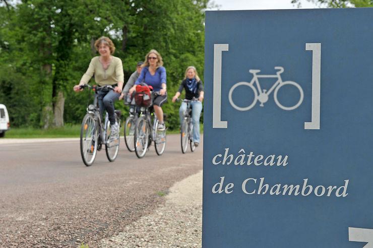 Les Châteaux à vélo