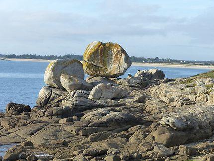 Les rochers de la Pointe de Trevignon