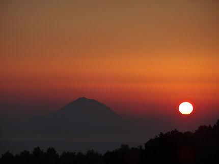 Coucher de soleil en Sicile