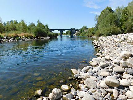 La rivière de Lanas