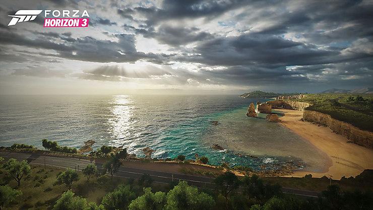 L'Australie via « Forza Horizon 3 »