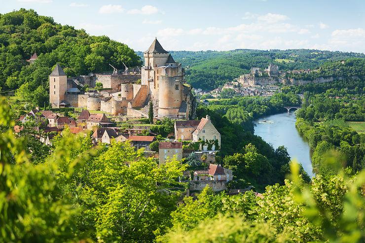 Le Périgord noir, de villages en châteaux
