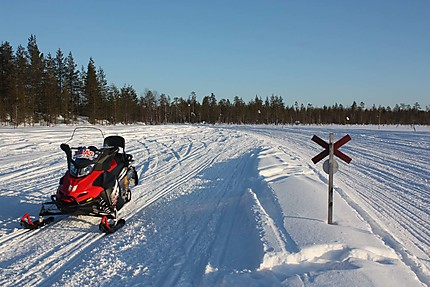 Moto de neige