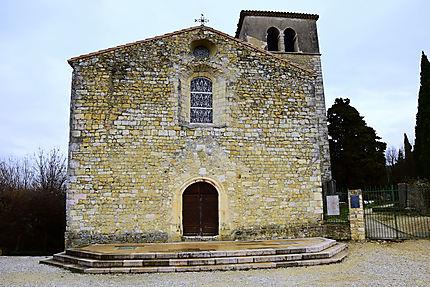 Eglise Sainte-Foy à Mirmande