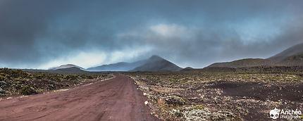 Plaine des Sables sur l'Île de la Réunion