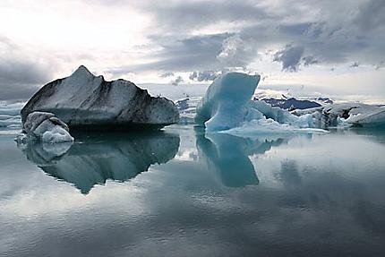 Lagon glaciaire Jökulsárlón