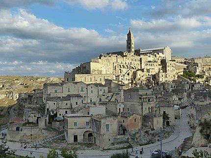 Vue sur Matera