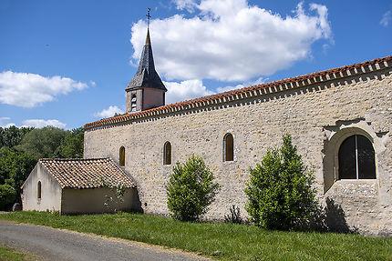 L'église Saint-Hilaire à Availles Thouarsais