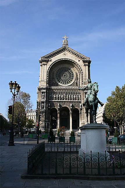 L'église de Saint-Augustin