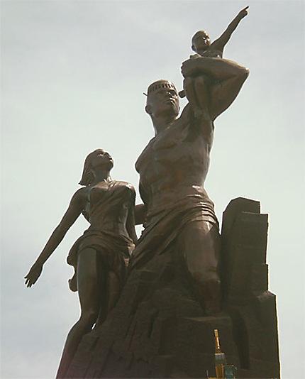 Statue géante renaissance Africaine 2009