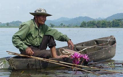 Pêcheur du lac lak