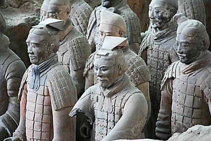 Armée des soldats de terre cuite