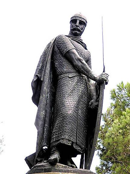 Statue au Castelo Sao Jorge